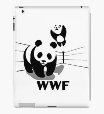 WWF Panda Wrestling (Parody) iPad Case/Skin