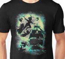 A ship to Neverland Unisex T-Shirt