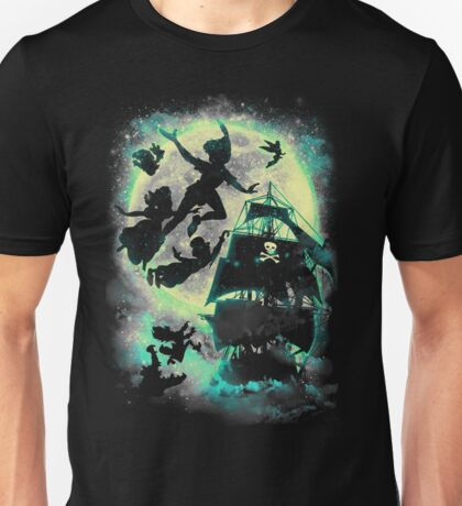 A ship to Neverland Unisex T-Shirt