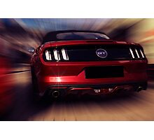 ford mustang gt Photographic Print