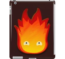 Calcifer! Howls moving castle. iPad Case/Skin