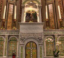 Main Altar, St. Malachy's Church, North Philadelphia by PhillyChurches