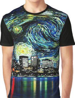 tardis starry night fun  Graphic T-Shirt