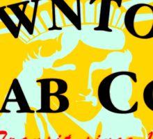 Downtown Cab Company Liberty Sticker