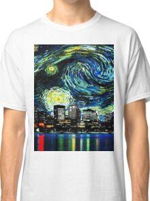 tardis starry night fun  Classic T-Shirt