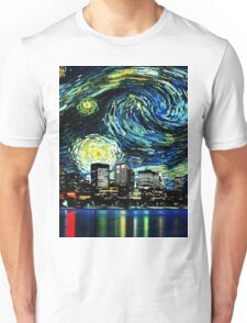 tardis starry night fun  Unisex T-Shirt