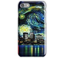 tardis starry night fun  iPhone Case/Skin