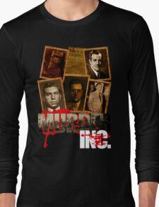 Murder Inc Mobsters T-Shirt Long Sleeve T-Shirt