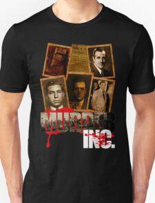 Murder Inc Mobsters T-Shirt Unisex T-Shirt