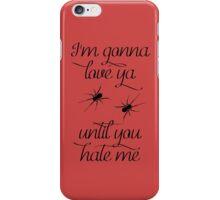 Black Widow - Iggy Azalea / Rita Ora Lyrics iPhone Case/Skin