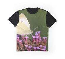 Veined white on Verbena Graphic T-Shirt