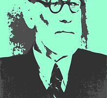 Sigmund Freud by ajpocken