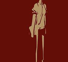 Makise Kurisu Minimalist by ajpocken