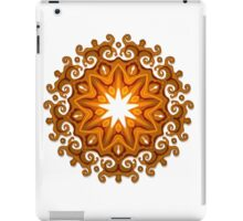 Hand Drawn Fire Mandala iPad Case/Skin