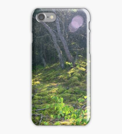 Sun Flares in a Forest iPhone Case/Skin