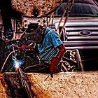 Welder by Paul Wolf