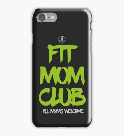 Wellness Coaches Fit Mom Club iPhone Case/Skin