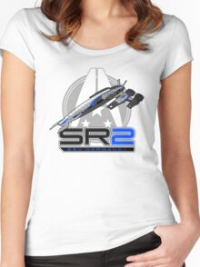 Mass Effect - Normandy SR2 Women's Fitted Scoop T-Shirt