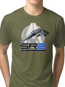 Mass Effect - Normandy SR2 Tri-blend T-Shirt