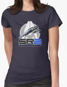 Mass Effect - Normandy SR2 Womens Fitted T-Shirt