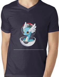 Cute Dratini in Pokèball Mens V-Neck T-Shirt