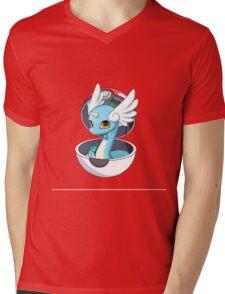 Cute Dratini in Pokèball Mens V-Neck T-Shirt