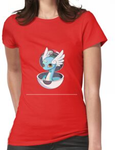Cute Dratini in Pokèball Womens Fitted T-Shirt