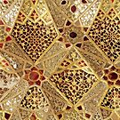 Detail of the Gallery of Mirrors, Sheesh Mahal, Lahore Fort by Bridgeman Art Library