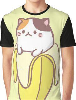 Banana Cat Graphic T-Shirt