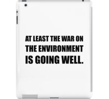 War On Environment iPad Case/Skin