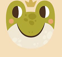 Happy Froggy With A Crown by Claire Stamper
