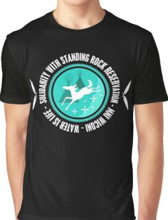 Solidarity With Standing Rock Shirt Graphic T-Shirt