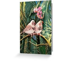 Sharing the Forest Greeting Card