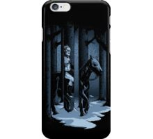 The Walker in the Woods iPhone Case/Skin