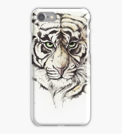 A look that plumbed your very soul iPhone Case/Skin