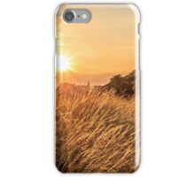 Golden Light over Salisbury Crags iPhone Case/Skin