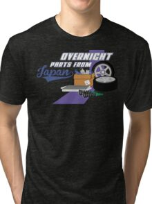 Overnight Parts From Japan Tri-blend T-Shirt