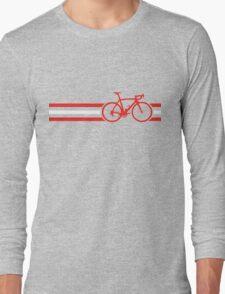Bike Stripes Austria v2 Long Sleeve T-Shirt