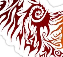 Shadey Hawk Sticker