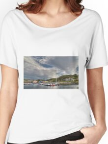 Lochinver Harbour, Sutherland, Scotland. Women's Relaxed Fit T-Shirt