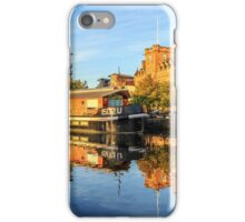 The Water of Leith at the Shore, Edinburgh iPhone Case/Skin