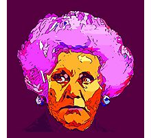 Mrs Slocombe Photographic Print