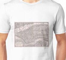 Vintage Map of New York City (1886)  Unisex T-Shirt