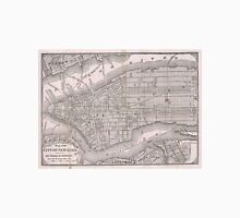 Vintage Map of New York City (1886)  T-Shirt