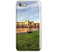 The Shore Skyline, Leith in Edinburgh iPhone Case/Skin