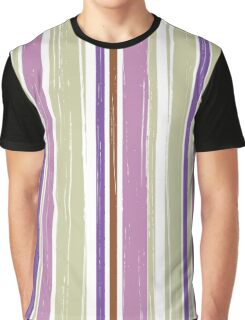 Seamless pattern of vertical brush strokes. Graphic T-Shirt