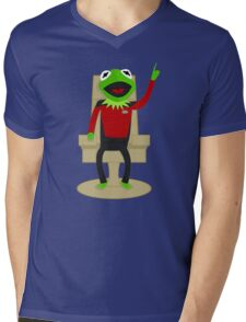 Jean Luc Pikermit Mens V-Neck T-Shirt