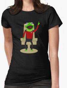 Jean Luc Pikermit Womens Fitted T-Shirt