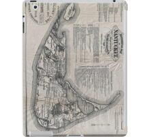 Vintage Map of Nantucket iPad Case/Skin