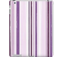 Seamless pattern of vertical brush strokes. iPad Case/Skin